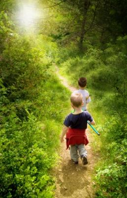 Dobrodružné hry v přírodě | Kouzelný svět skřítků